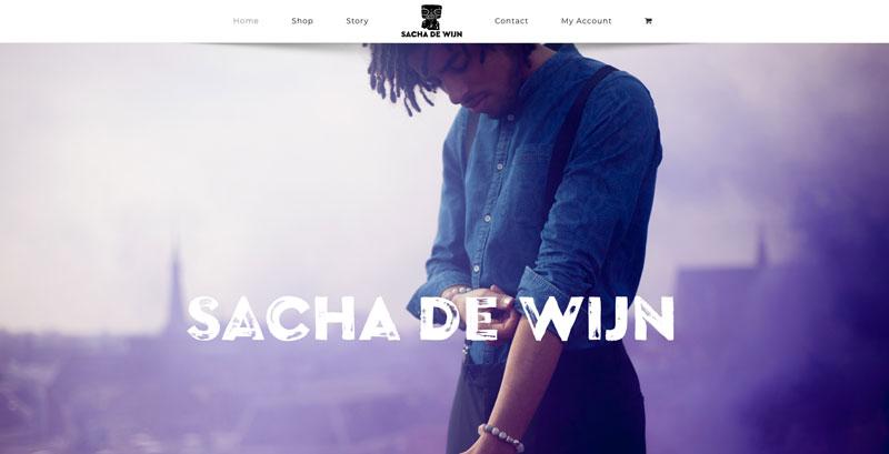 Sachadewijn.com webwinkel in WooCommerce